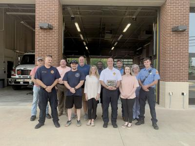 Moulton and local fire departments honored as Hometown Heroes