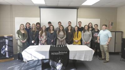 Career Technical students inducted into the National Technical Honor Society