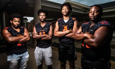 R.A. Hubbard football team backing up words with work