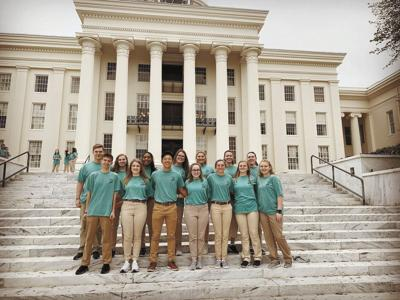 Lawrence County students  attend Joe Wheeler youth tour