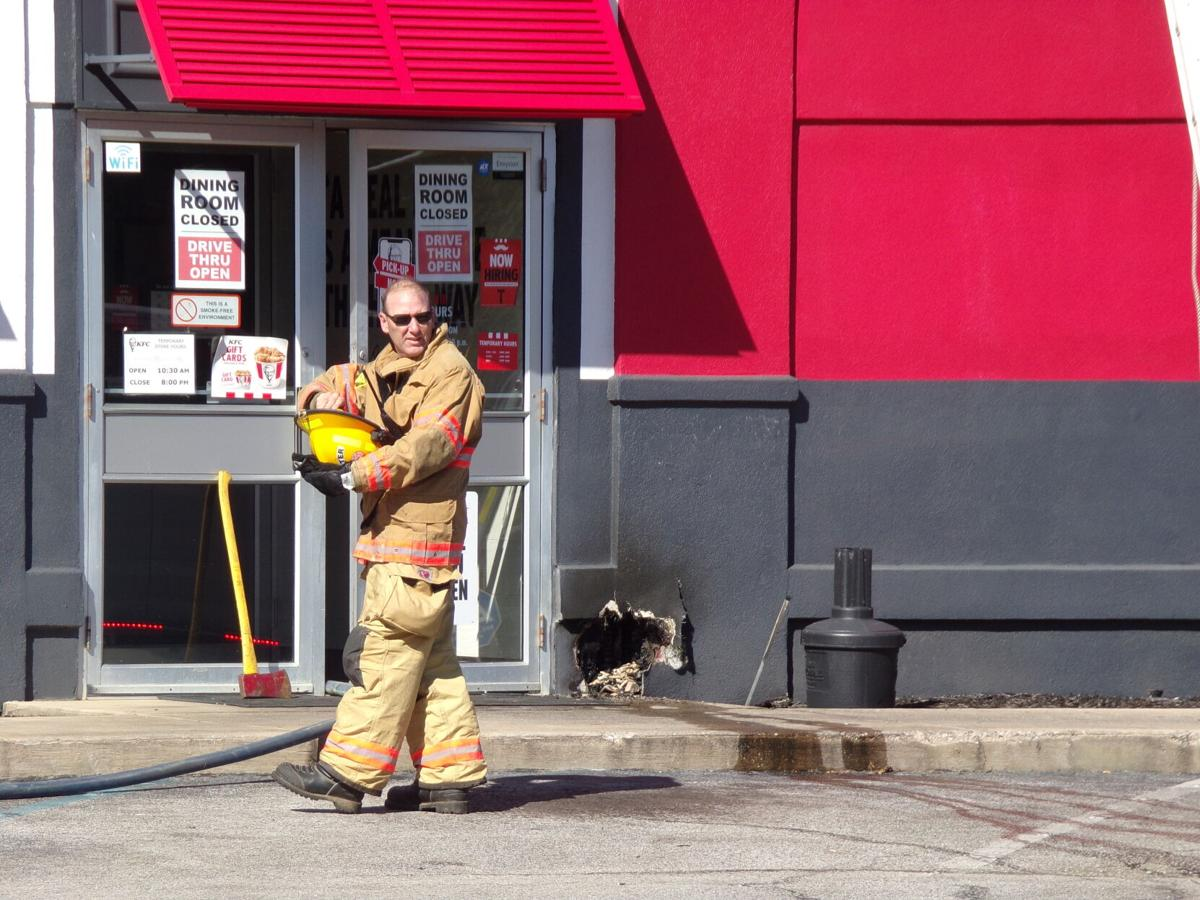 Discarded cigarette blamed for Moulton KFC fire