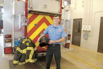 Moulton firefighter achieves remarkable feat in training