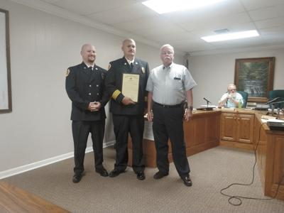 Emergency responders honored at Commission meeting