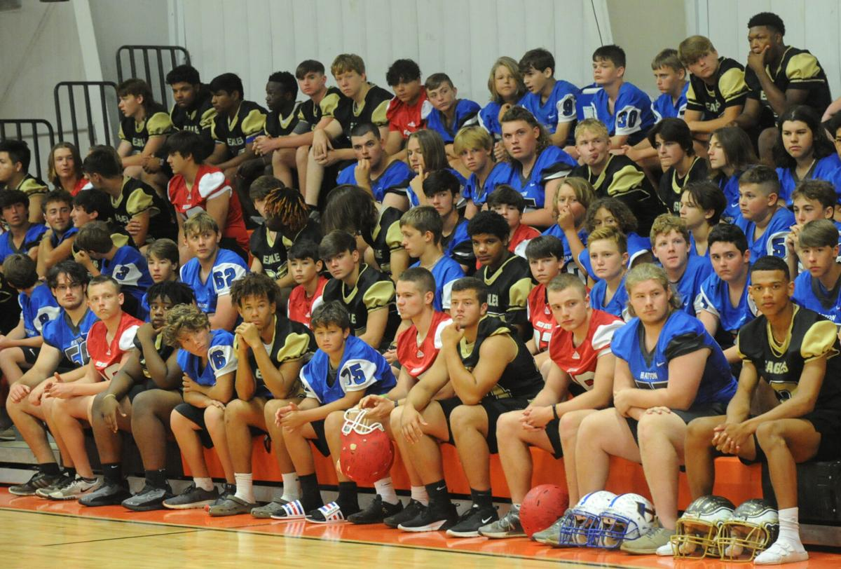 Lawrence County teams unify to honor R.A. Hubbard football stars