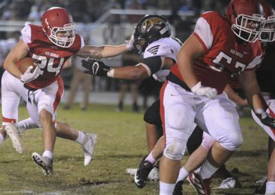 Russellville rattles Lawrence County early as Red Devils fall 27-18