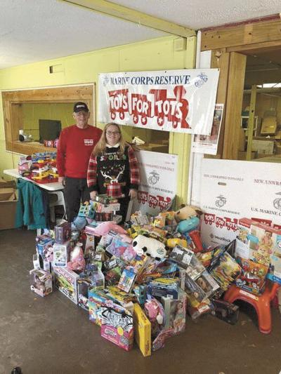 Town Creek family raises $1,400 for Toys for Tots in late daughter's honor