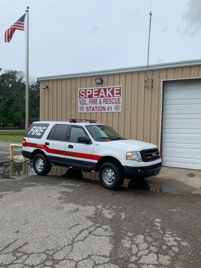 Emergency vehicle added to Speake fire fleet thanks to community donations