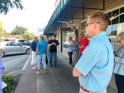 Moulton's Walkability Audit draws attention to detail downtown