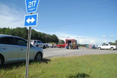 Moulton woman and 4 children injured in Thursday crash