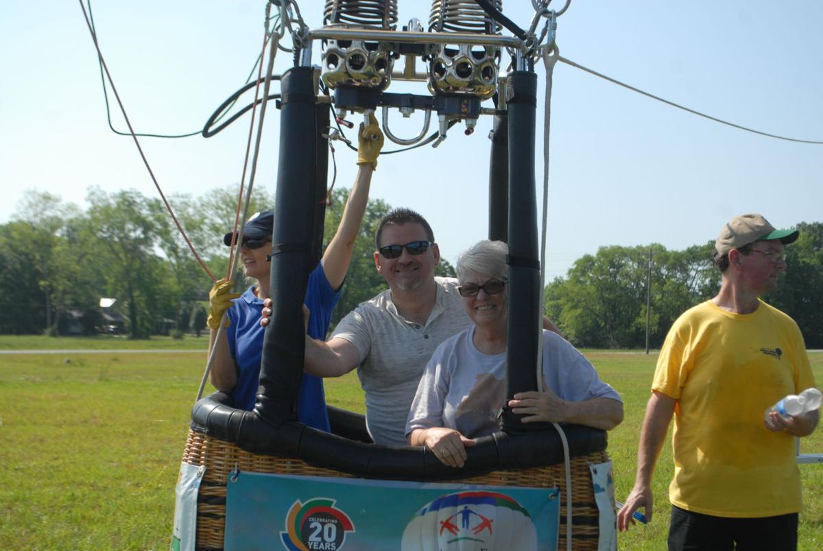 Joe Wheeler EMC kicks off the first summer weekend in Moulton with hot air balloon rides