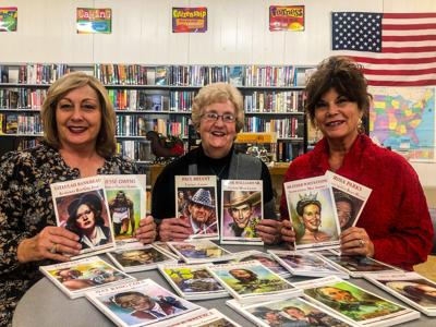 Courtland Library receives local author's books