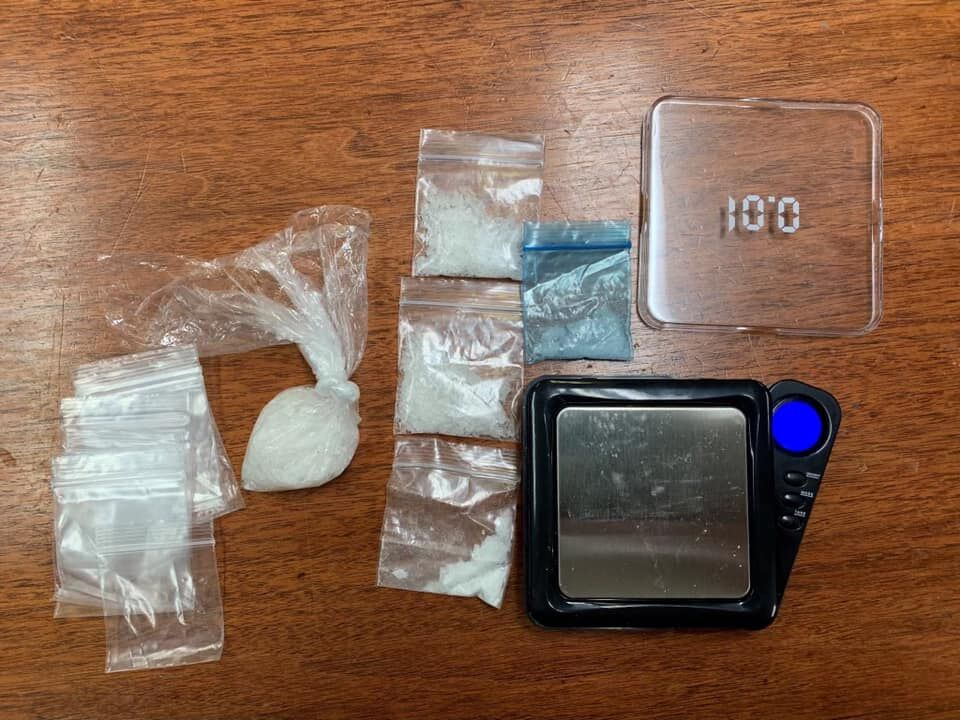 Trinity man arrested after meth bust