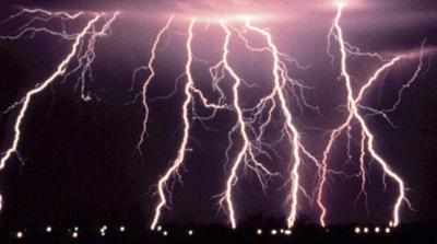 Less heat, more lightning for South Georgia