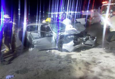 Sunday night sees car wreck   Local News   moultrieobserver com