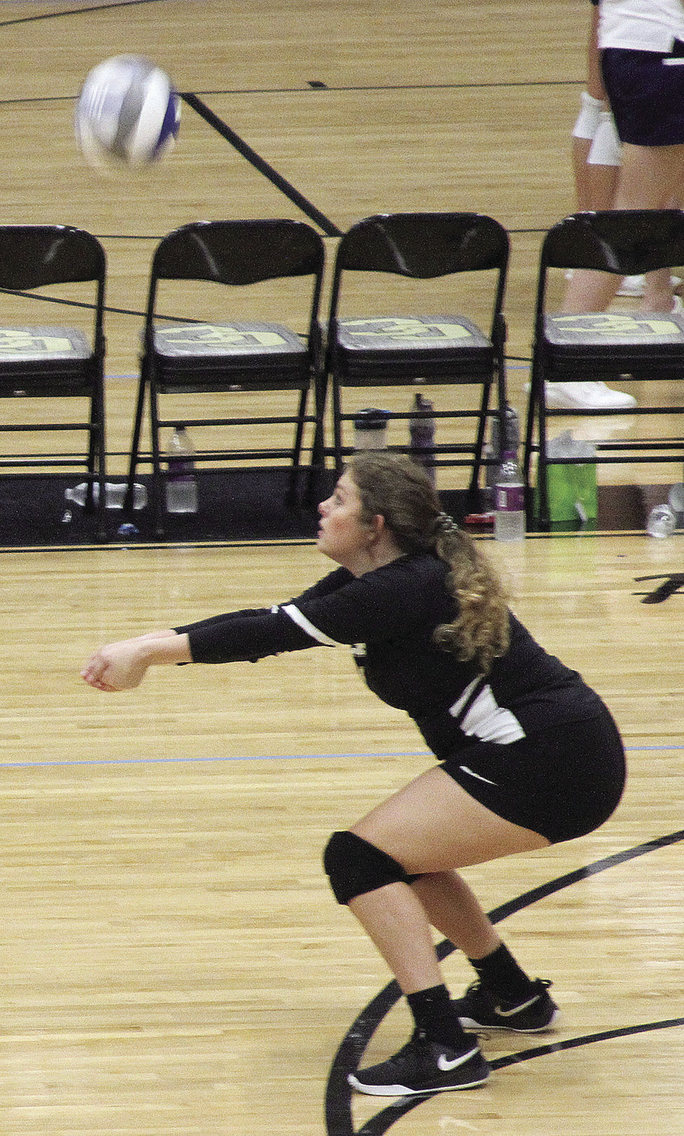 Packer region volleyball play