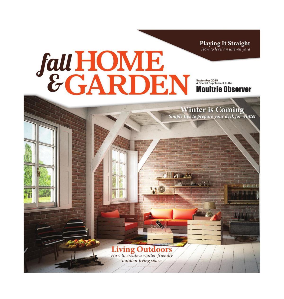 Fall Home and Garden
