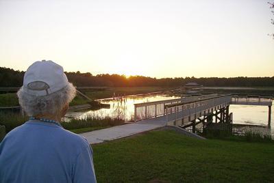 1031 meredeth enjoys sunset.JPG