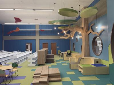 Moultrie-Colquitt library's new childen's room