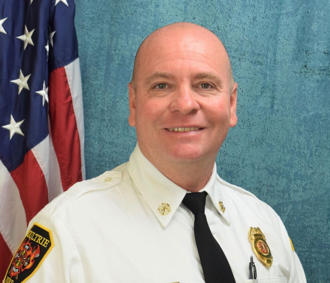 Fire Chief Chad Kilgore
