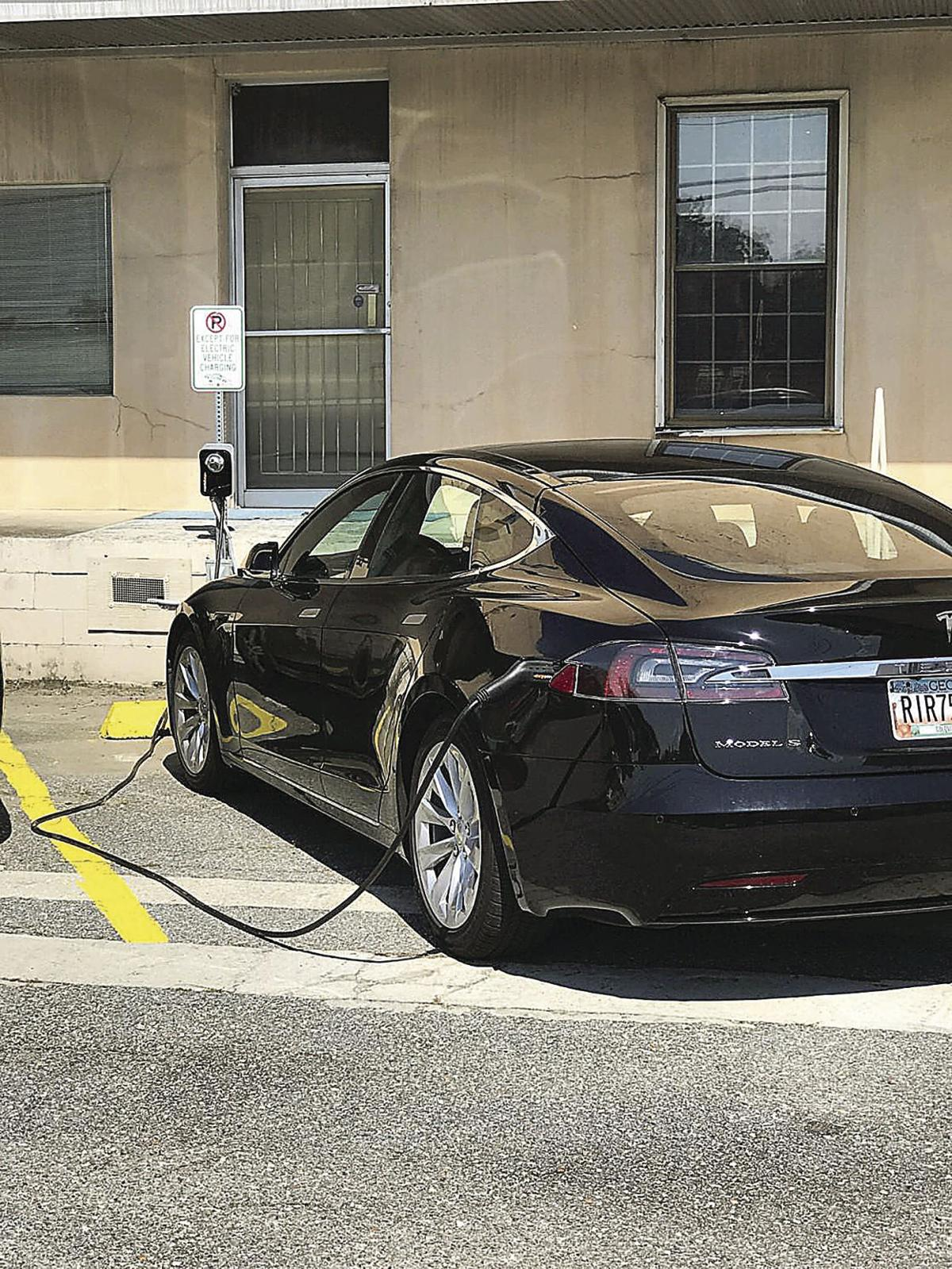 Moultrie Businessman Installs Charger For Electric Vehicles Local - Moultrie ga car show