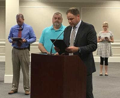 Lt. Donald Davis retires