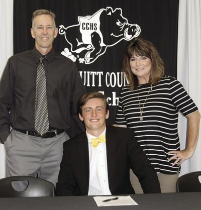 Turner Sircy signs to play college baseball