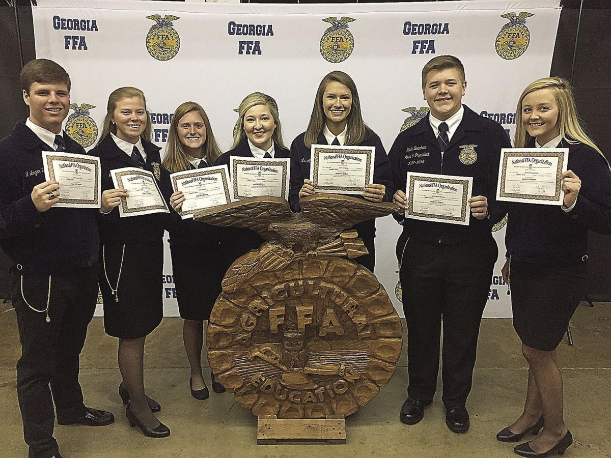 49d158b2 FFA excels at state convention | Local News | moultrieobserver.com