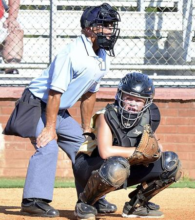 Tostenson behind the plate