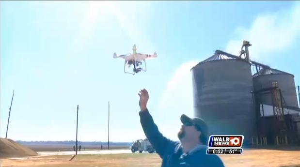 Firefighting drone