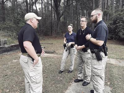 Moultrie Police Department training