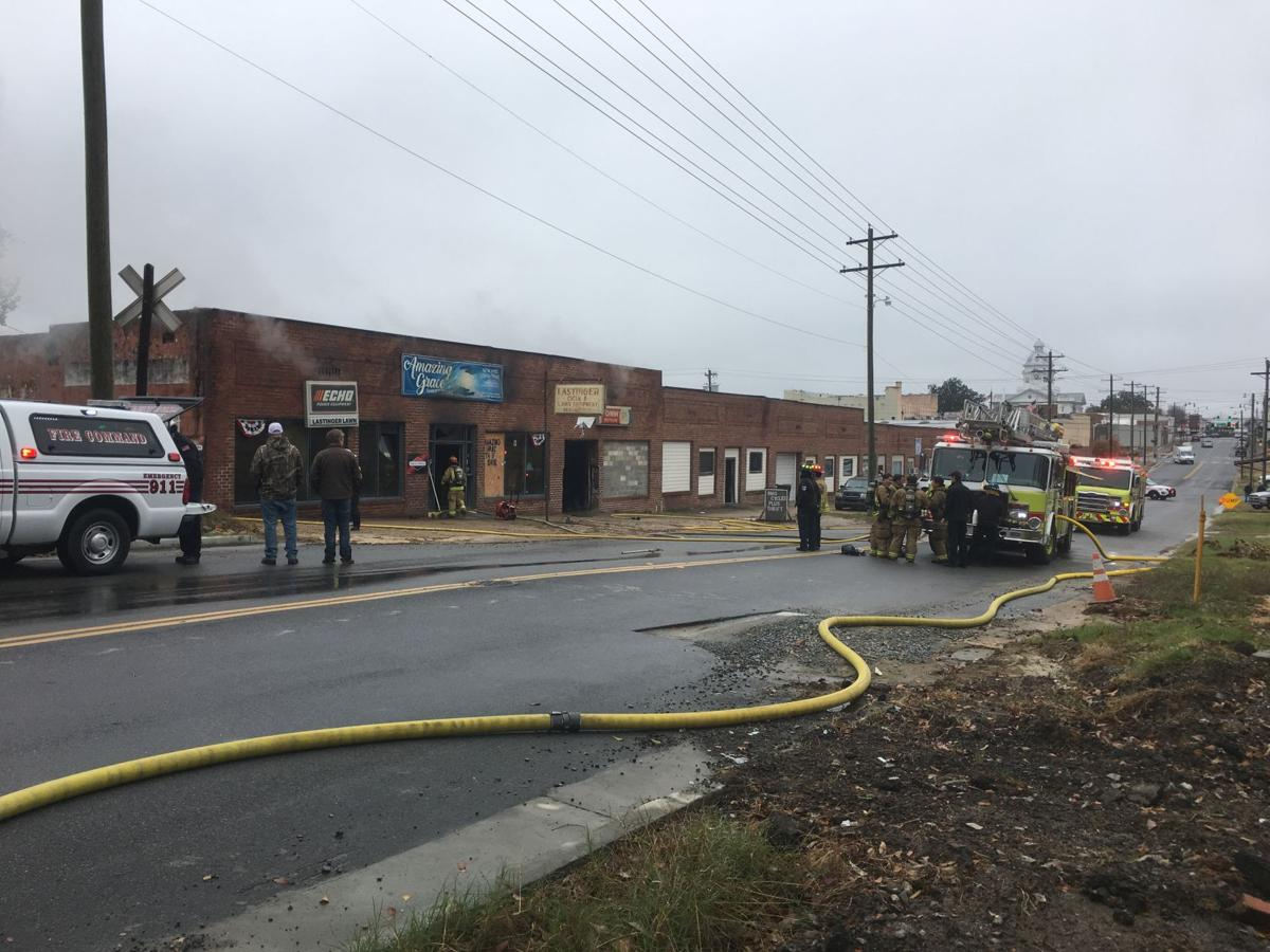 Fire on East Central Ave.