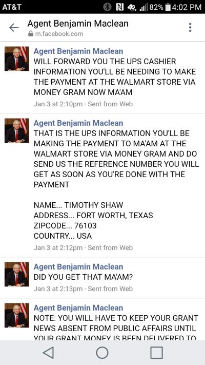 Facebook scam targets Tifton woman | Ga Fl News
