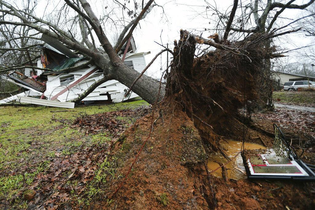 APTOPIX Severe Storms Mississippi