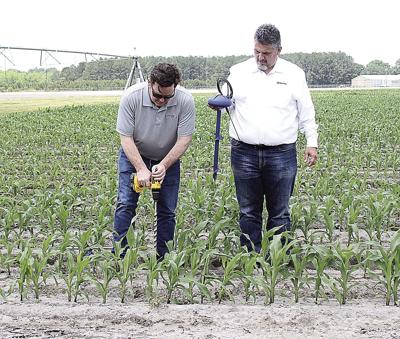CropX soil-water sensor