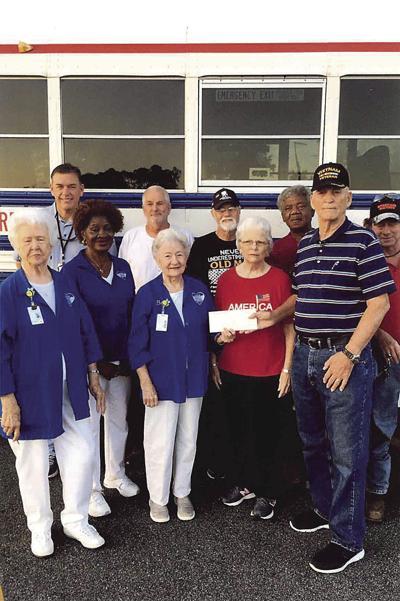 Veterans Bus donation