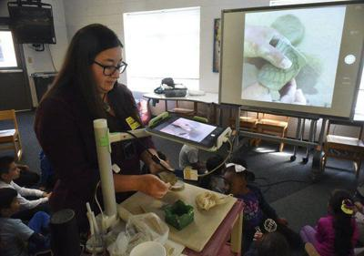 Chattanooga clay artist visits Park Creek