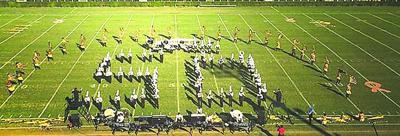 Colquitt County High School's 50th Regiment scored a 3rd place overall finish at the Coffee Marching Invitational on Saturday, Oct. 10, in Douglas, Ga.