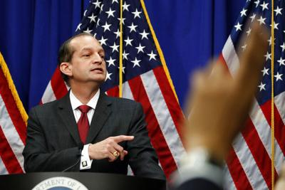 Financier Labor Secretary