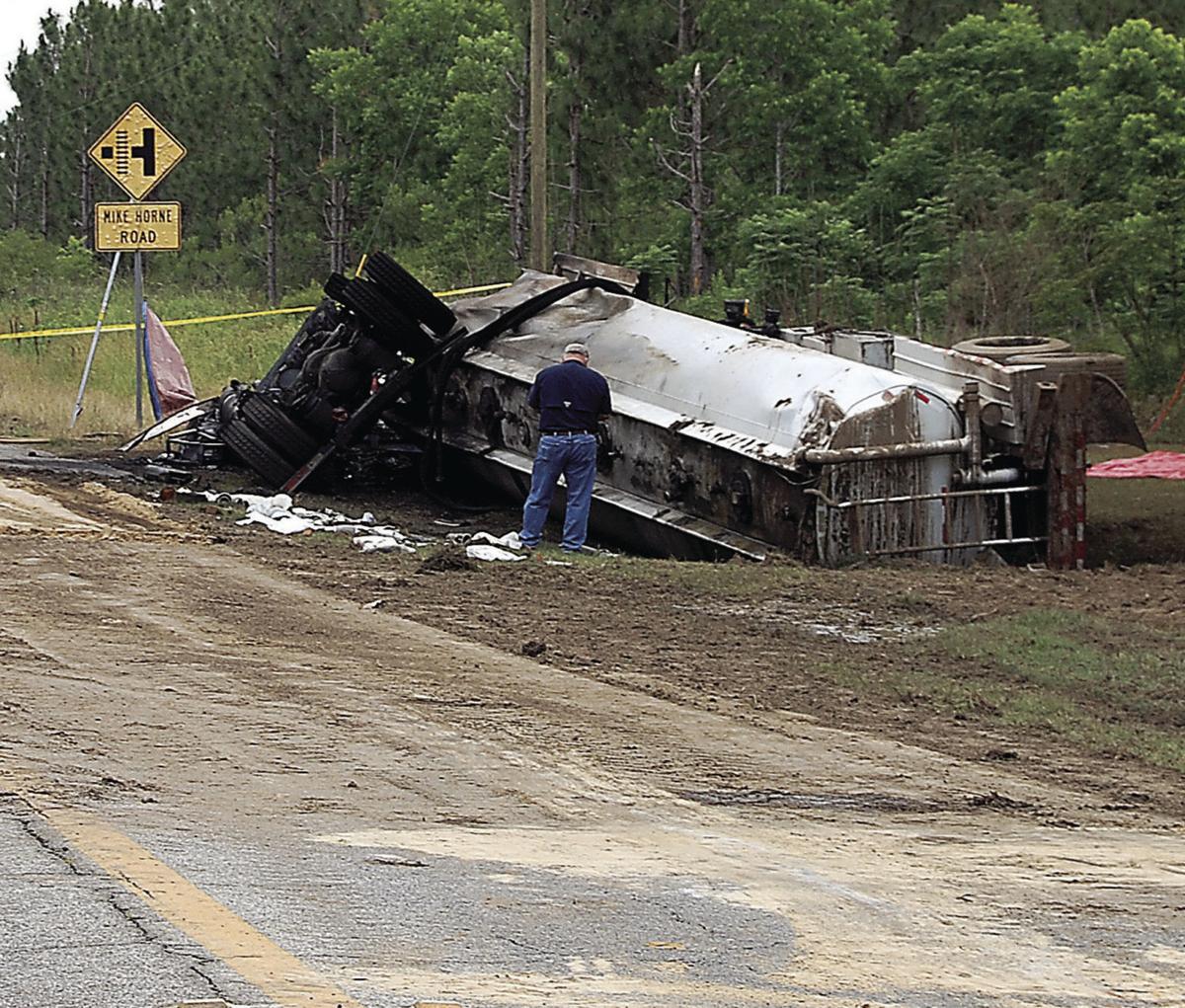 Crash on Highway 133 North