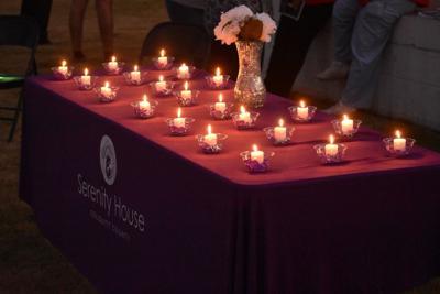 Domestic violence vigil