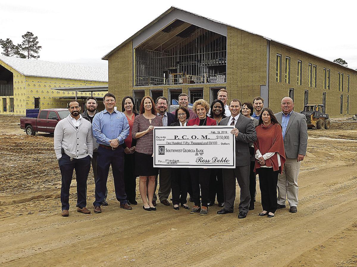 Southwest Georgia Bank Deloache Trust Give To Pcom Local News