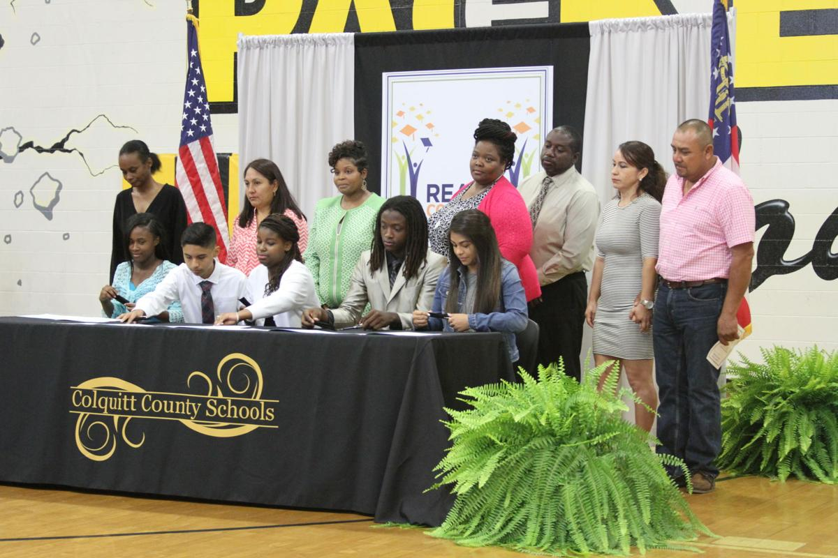 REACH Georgia signing