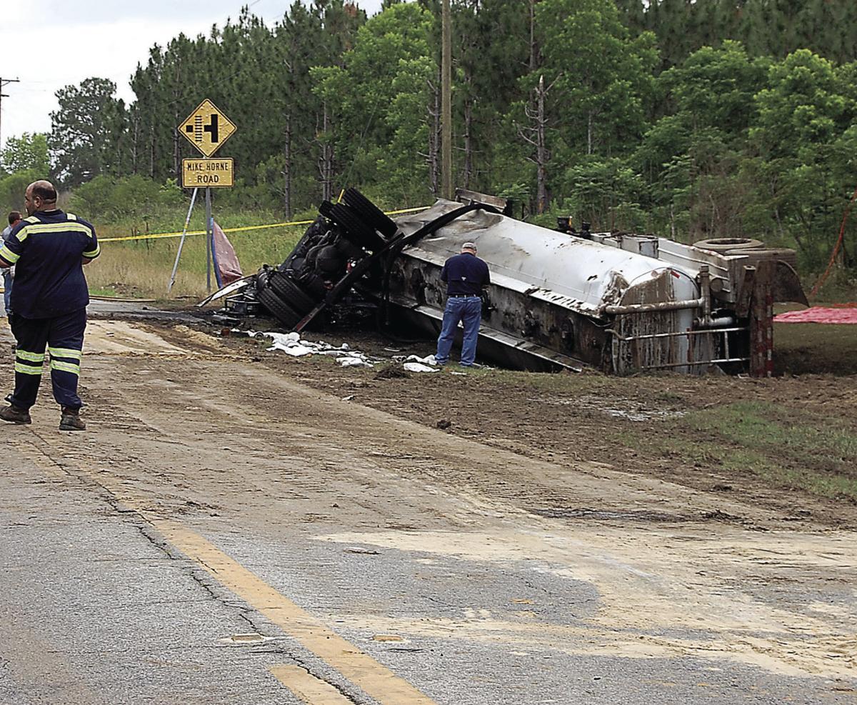 Crash on Highway 133