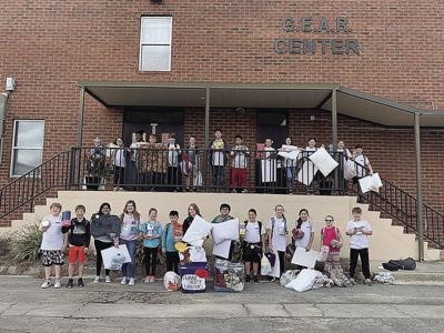Beta Club collects for Humane Society