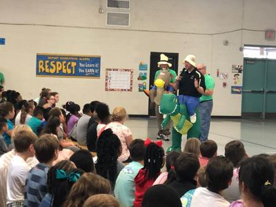 Sunset Elementary holds first assembly