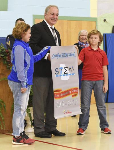 Something to buzz about: Eton Elementary earns STEM certification