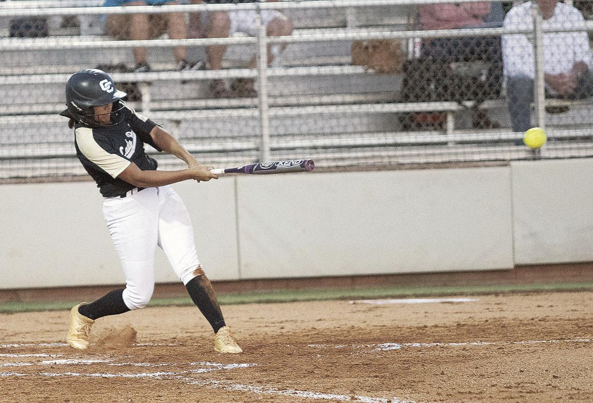 Packer softball Columbus bound with sweep