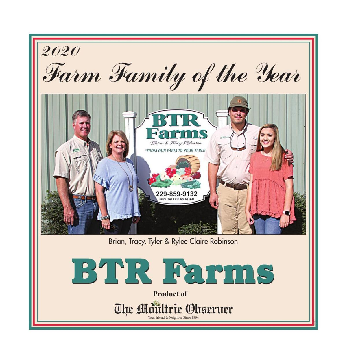 Farm Family of the Year, 2020
