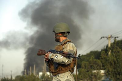 Shattering Taliban attack in Kabul even as US deal nears