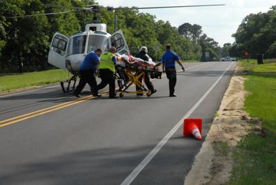 Funston residents helped rescue driver in Friday accident